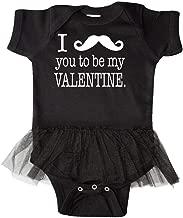 inktastic I Mustache You to Be My Valentine Infant Tutu Bodysuit