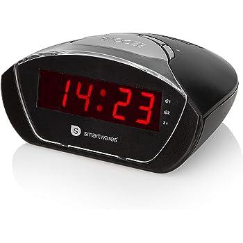 Smartwares CL-1458 Radiosveglia – Compatta – Snooze