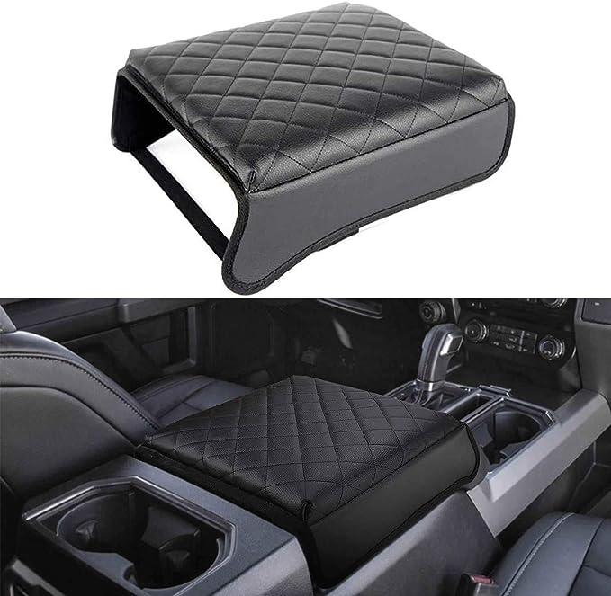 KMMOTORS Automotive Customized Console Armrest Cushion Only for ...