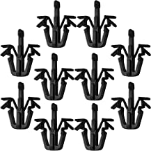 OxGord Grill Clip Retainers Best for Select Toyota Truck & SUVs (Pack of 10) Replaces 90467-12040 Interior Trim Panel Grille Clips - Black