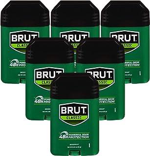 Brut Deodorant, 2.25 Ounces (Pack of 6)