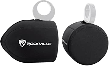Rockville Neoprene Covers for (2) Wet Sounds ICON8 8