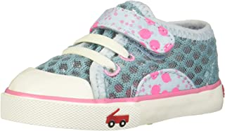 See Kai Run Girls' Saylor Sneaker Aqua 2Y M US Little Kid