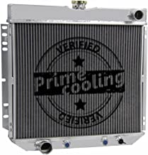 Primecooling 56MM 3 Row Core Aluminum Radiator for Mercury /Ford Multiple Models 1963-1977