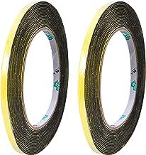 Schuim Weer Strip-2 Rolls, 5 mm Breed X 2 mm Dikke Totaal 5 m Lange, Zelfklevende Schuim Weertape Hoge dichtheid Geluidsbe...