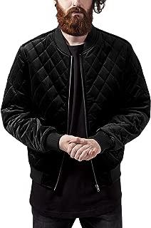 Urban Classics - Velvet Bomber Quilted Jacket