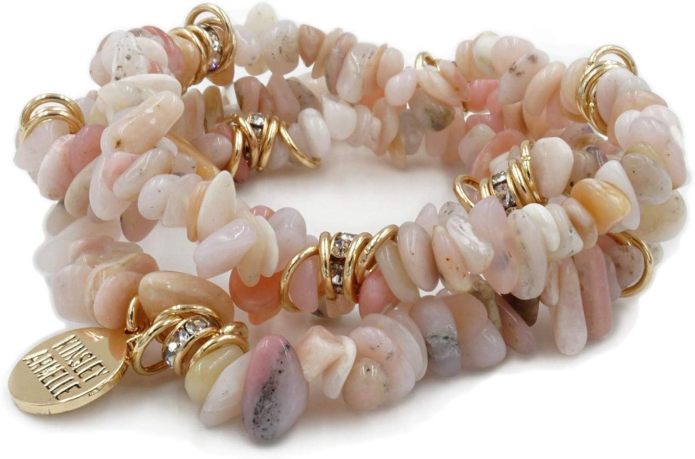 Kinsley Philadelphia Mall Armelle Cluster Collection Bracelet Seashell favorite - Party