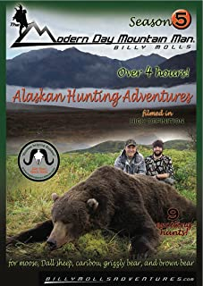 The Modern Day Mountain Man, Season 5 :A set of Alaska hunting adventures for brown bear, grizzly bear, moose, caribou, and Dall sheep