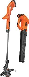 BLACK+DECKER BCK279D2 - Kit de cortadora de hojas y cortador de cuerdas (20 V)