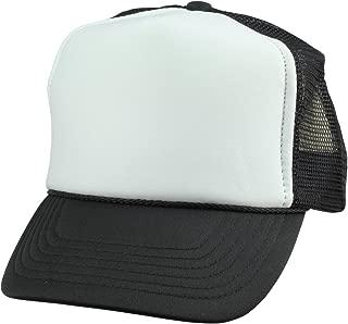 Youth Mesh Trucker Cap - Adjustable Hat (S, M Sizes)