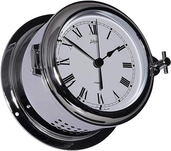 Schatz Murale Horloge Chromé Marine Fyrkat 141mm