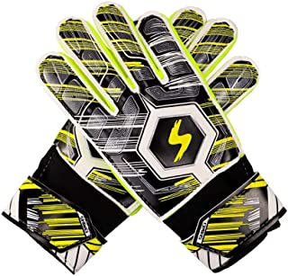 Smoxx Youth&Adult Goalie Goalkeeper Gloves,Strong Grip for The Toughest Saves, with Finger Spines to Give Splendid Protection to Prevent Injuries