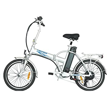 E-Bike/pedelec SW100 - Bicicleta eléctrica (aluminio, 20