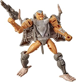 Transformers Toys Generations War for Cybertron: Kingdom Core Class WFC-K2 Rattrap Action Figure - Kids Ages 8 and Up, 3....
