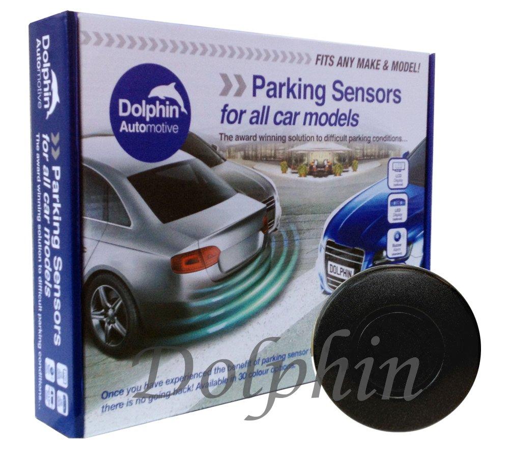 - Blanco Perla pitido Kit de sensores de estacionamiento Trasero Dolphin DPS400 4 sensores de inversi/ón ultras/ónicos Sistema de Alerta de Audio