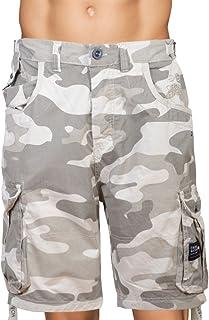Crosshatch Bermuda Hommes Short Camouflage Plage Multi-couleur été maillots de bain Trunks