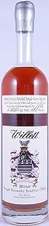 Willett 9 Years Family Estate Single Barrel No. 1443 Rare Release Kentucky Straight Bourbon Whiskey 64,35% - eine von 133 Flaschen - rare Japan-Import!