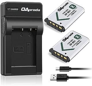OAproda 2 Pack NP-BX1 Battery(1700mAH) and Ultrathin USB Charger for Sony NP-BX1/M8, Cyber-Shot DSC-HX80, RX100, RX100 RII, RX100 VII, RX1, RX1R, RX100M II, RX100 V, RX100 IV, HX300, HX400, HX50V