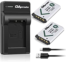 OAproda 2 Pack NP-BX1 Battery(1700mAH) and Ultrathin USB Charger for Sony NP-BX1/M8, Cyber-Shot DSC-HX80, HX400, RX100, RX100 RII, RX100 VII, RX1, RX1R, RX100M II, RX100 V, RX100 IV, HX300, HX50V