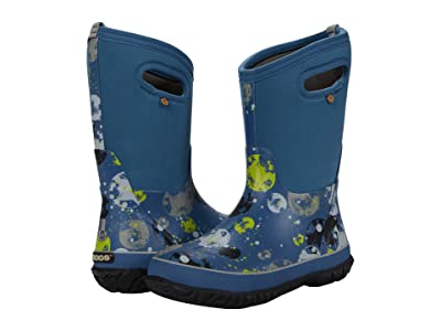 Bogs Kids Classic Moons (Toddler/Little Kid/Big Kid) (Dark Blue Multi) Kid