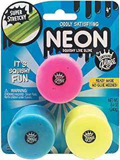 WeCool NEON Squishy Like Slime 3 Pack - Pink/Yellow/Blue