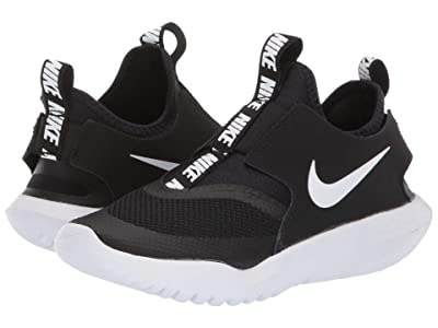 Nike Kids Flex Runner (Little Kid) (Black/White) Kids Shoes