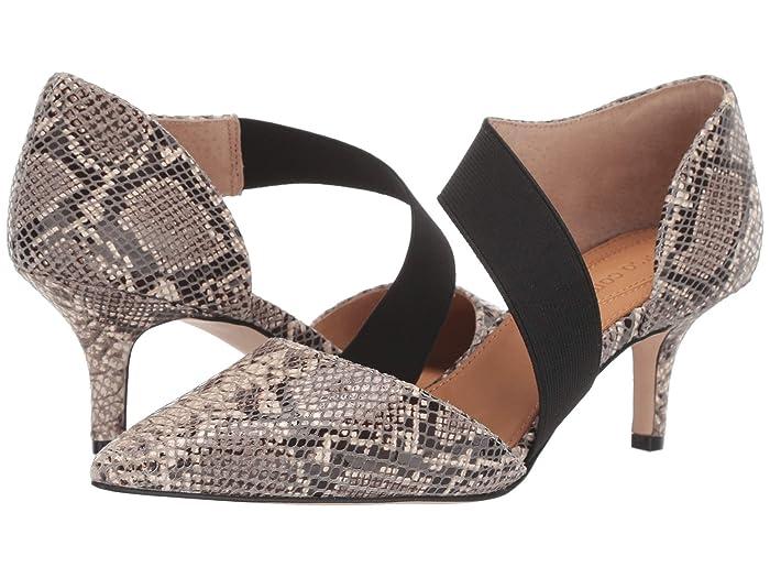CC Corso Como  Denice (Natural/Black Pythonius) Womens Shoes