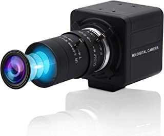 4K Ultra HD Webcam Varifocal HD 5-50mm Lens USB Mini Web Camera 3840X2160@30fps USB with Camera Sony IMX317 Sensor Camera,...