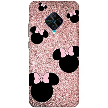 Kt Once You Have It You Love It... Disney Minnie Mouse Cute VIVO S1 PRO Mobile Back Cover (Multicolour)