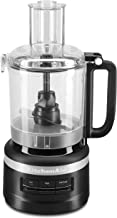 KitchenAid KFP0918BM Easy Store Food Processor, 9 Cup, Black Matte