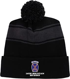 10th Mountain Division Embroidered Beanie/Scarf