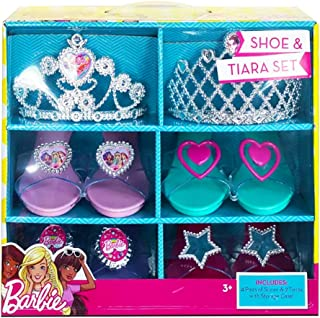 Barbie Shoe & Tiara Set