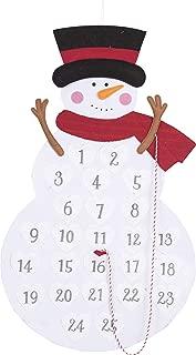 Best felt snowman advent calendar Reviews
