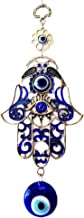 Betterdecor Blue Evil Eye and Hamsa Hand Hanging Ornament (With a Pounch)-023