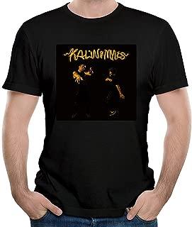 ILONSE Men's Kalin and Myles Logo T Shirts Black