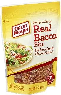 Oscar Mayer Real Bacon Bits, Hickory Smoke Flavor 3 Oz (Pack of 4)