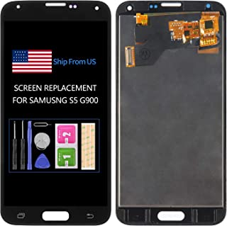 TFT Material Screen Replacement for Samsung Galaxy S5 G900 G900A G900P G900V G900T G900R4 G900F G900H LCD Display Touch As...