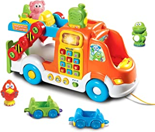 VTech Pull & Learn Car Carrier (Frustration Free Packaging)