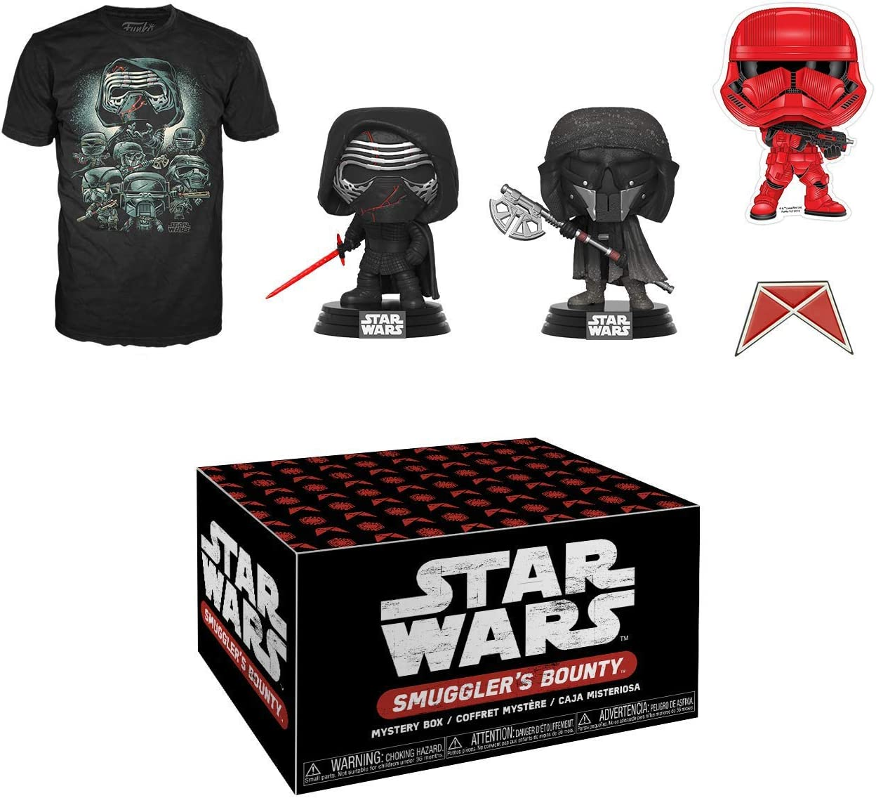 """Funko POP Star Wars Sith Trooper Smuggler/'s Bounty Exclusive 4/"""" Sticker Decal"""