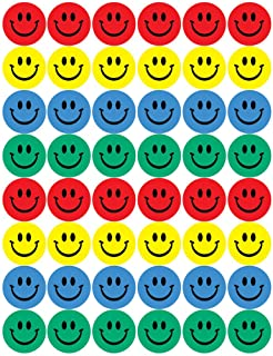 Eureka Smile Faces Stickers, Large