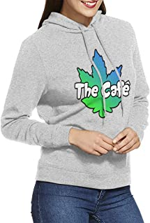 DGGE The Cafe Womens Hoodies Sweatshirts Clothing and Sports