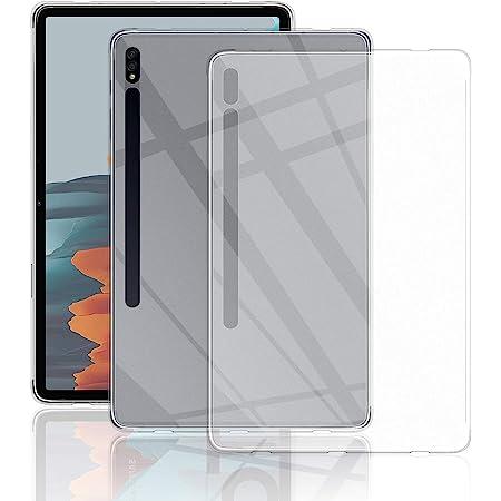 Samsung Galaxy Tab S7 Hülle Qulloo Tpu Hülle Schutzhülle Crystal Case Durchsichtig Klar Silikon Transparent Für Samsung Galaxy Tab S7 Transparent Elektronik