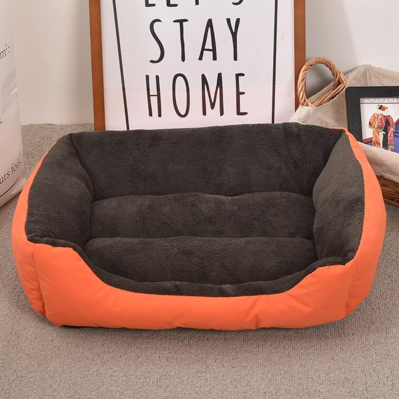 Aoligei Plush Warm Oxford Cloth Kennel cat Nest Pet Litter Dog mat 30  40cm Perfect for Sunbathing mat, Nap&Sleeping Bed