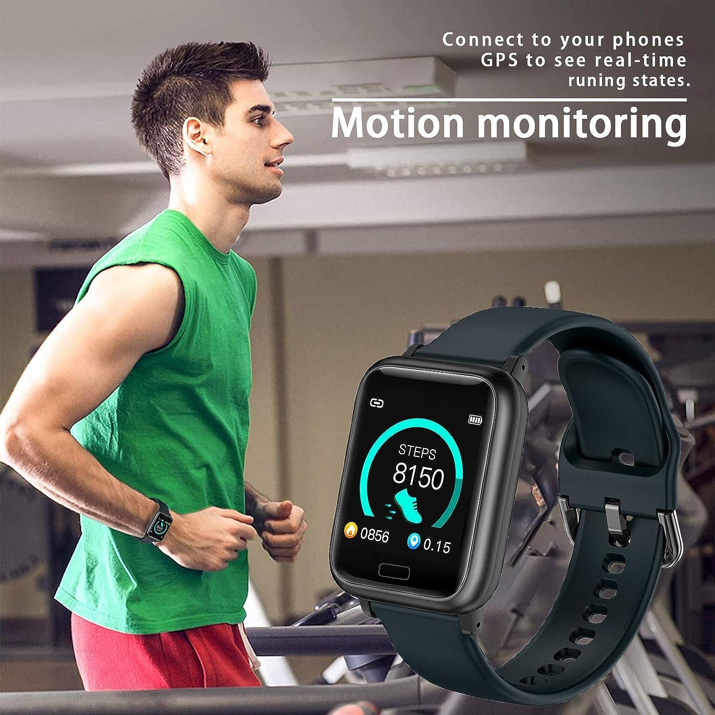miniature 13 - Smart Watch Fitness Tracker BP fréquence cardiaque étape Calorie Sommeil Moniteur Étanche