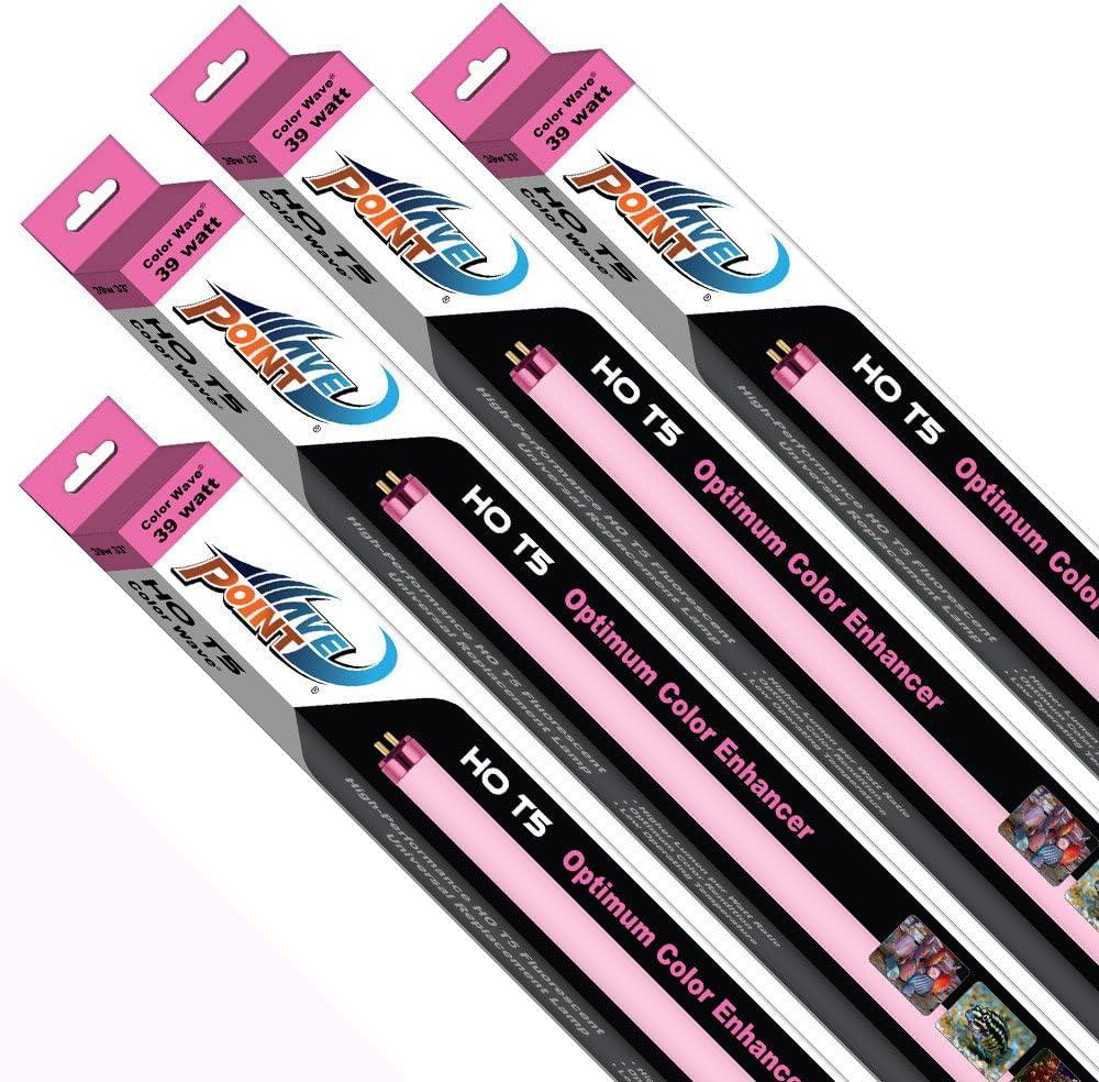 Wave Point 4-Pack Color Credence Max 55% OFF HO T-5 Universal L Aquarium 39-Watt