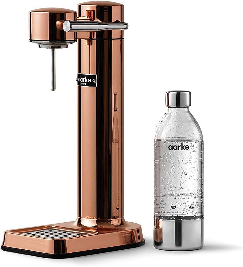 11 opinioni per aarke Carbonator 3 Gasatore d'Acqua in Acciaio Inossidabile e Bottiglia in Pet