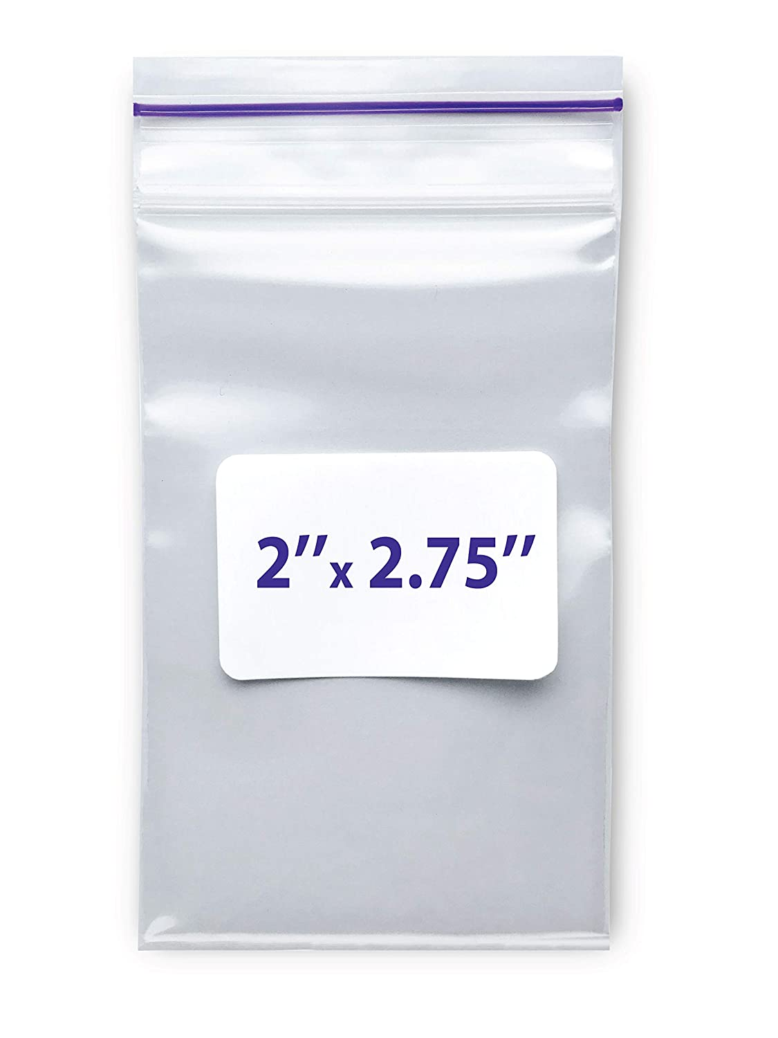 """Small Bags 2"""" Ultra-Cheap Deals X 2.75"""" - Plastic gift Clear Reclosable 2 Mil"""