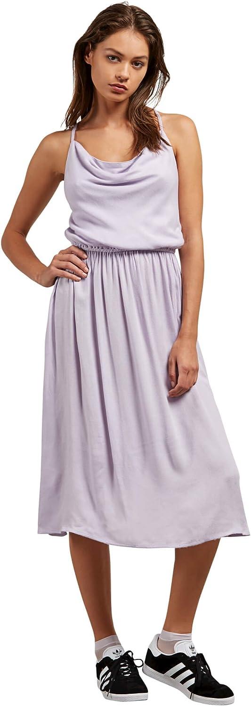 Volcom Womens Mystic Mama Mid Length Dress Casual Dress