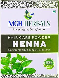 MGH Herbals Pure & Natural Henna Powder (Organically Grown) for Hair Care & Hair Color - 100 gm