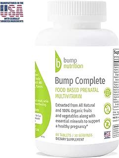 Prenatal & Postnatal Multivitamin | Healthy Pregnancy | Natural & Organic Food Based Support for Mother & Baby | 60 Count